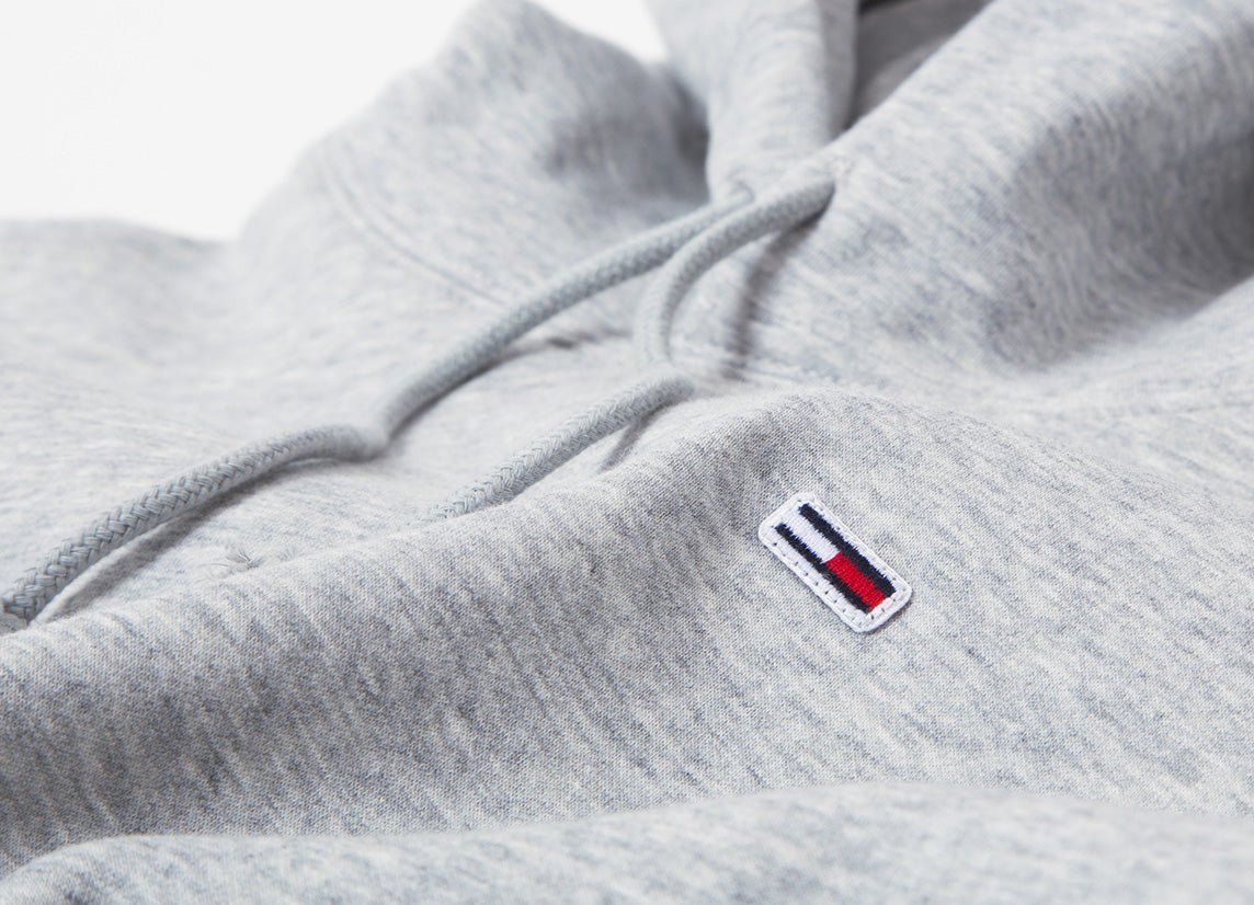 Tommy Jeans Classic Pullover Hoody - Light Heather Grey