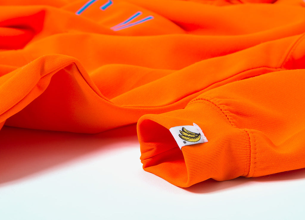 Chimp Highlighter Pullover Hoody - Safety Orange