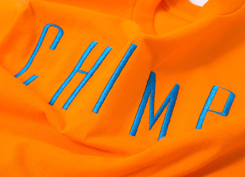 Chimp Highlighter T Shirt - Safety Orange