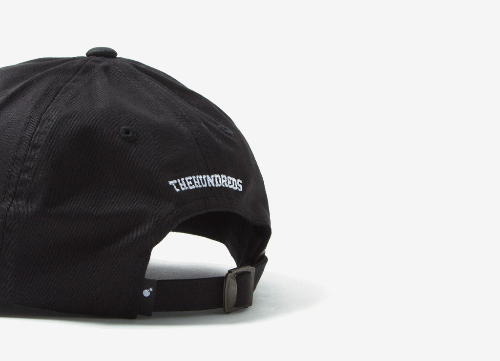 The Hundreds Flag Dad Cap - Black