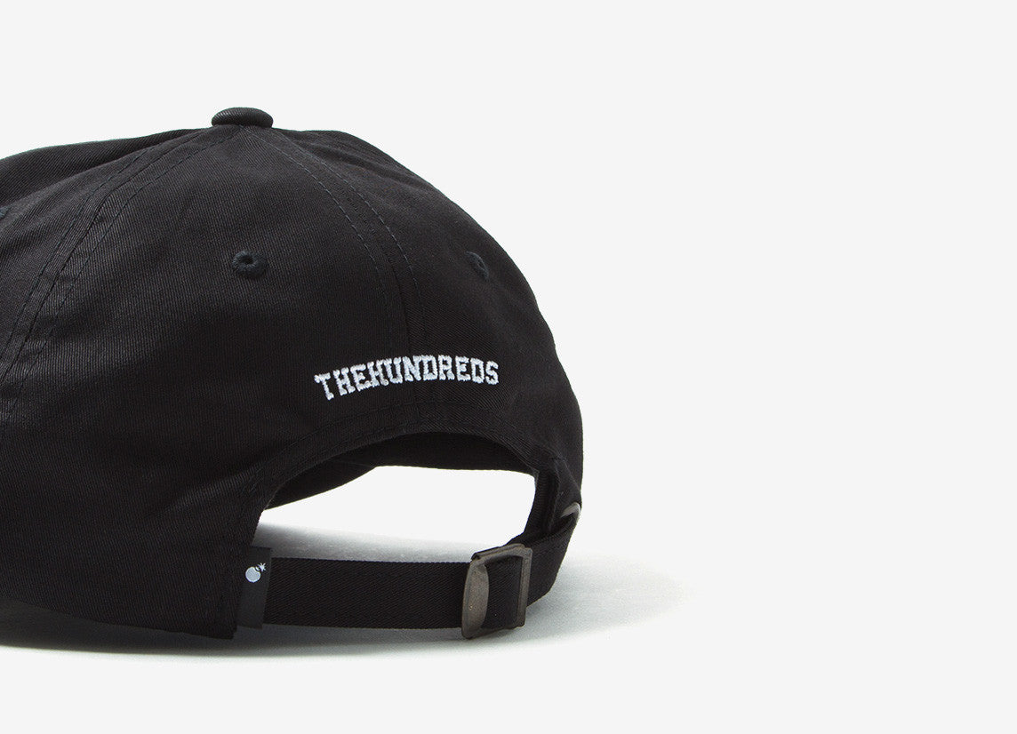 The Hundreds Solid Bomb Dad Cap - Black