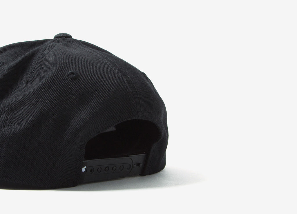 The Hundreds Forever Team Snapback Cap - Black