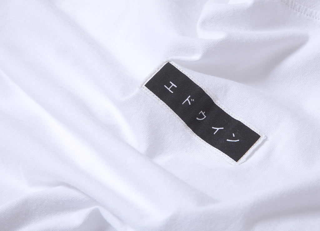 Edwin Katanka T Shirt - White Garment Washed
