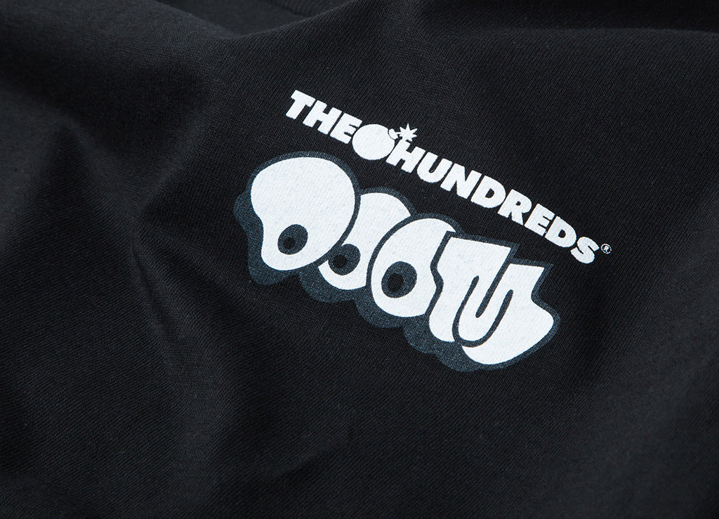 The Hundreds x DOOM Mask L/S T Shirt - Black