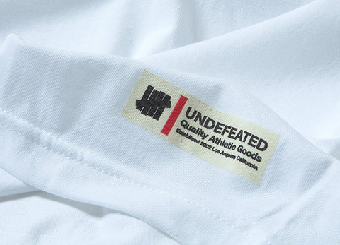 Undefeated Quality Label T Shirt - White