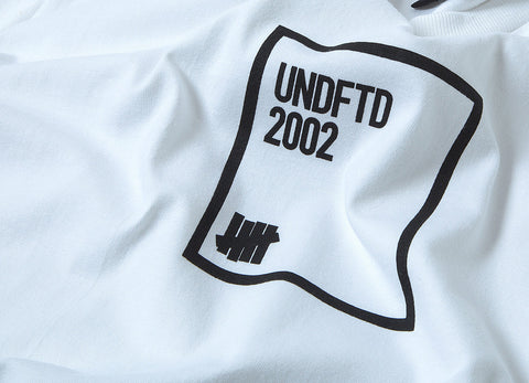 Undefeated Parameters T Shirt - White