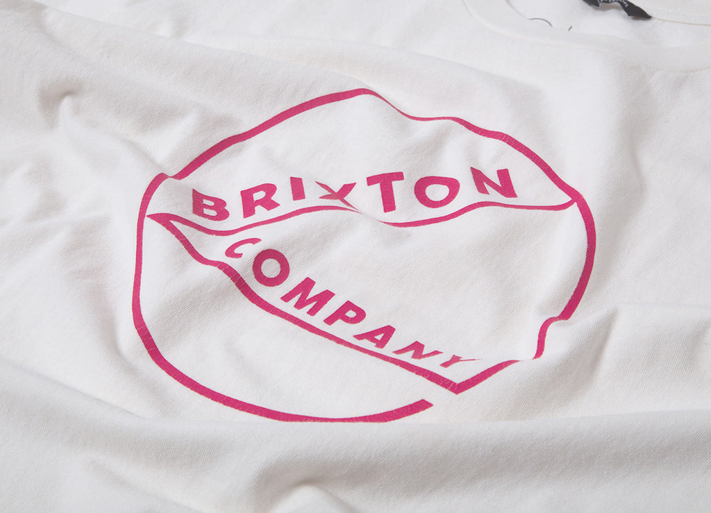 Brixton Speck T Shirt - Off White