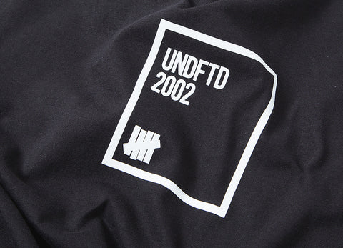 Undefeated Parameters T Shirt - Black