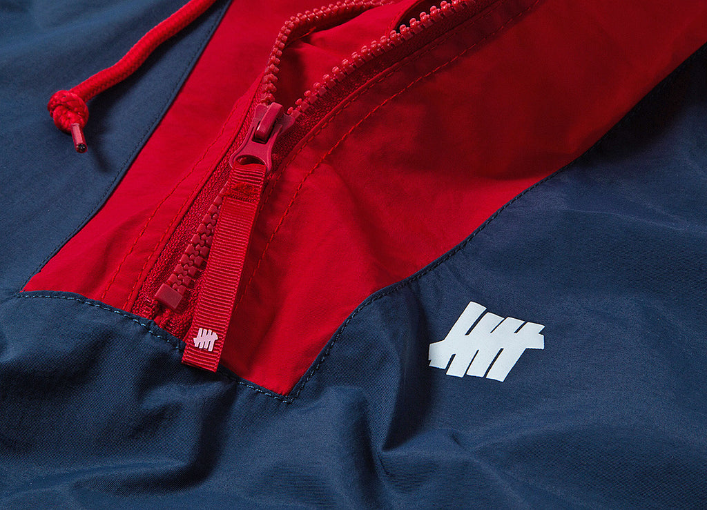 Undefeated Ops Streak Anorak Jacket - Navy