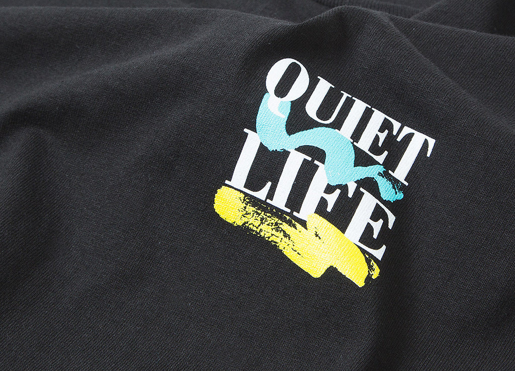 The Quiet Life Stack T Shirt - Black