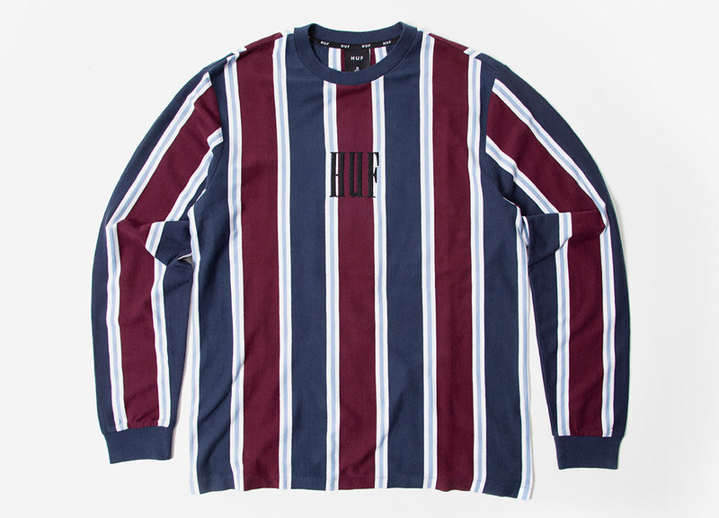 HUF Adios Long Sleeve Shirt - Petrol