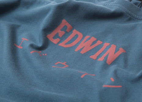 Edwin Japan T Shirt - Dark Slate