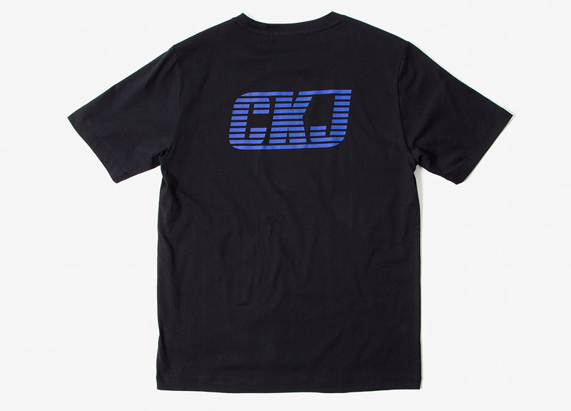Calvin Klein BMX Graphic T Shirt - CK Black
