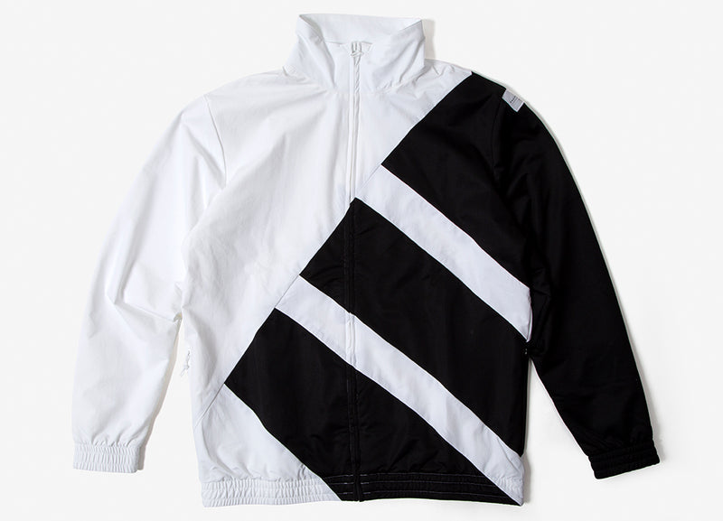 adidas Originals EQT SST Bold Track Jacket - White/Black/White