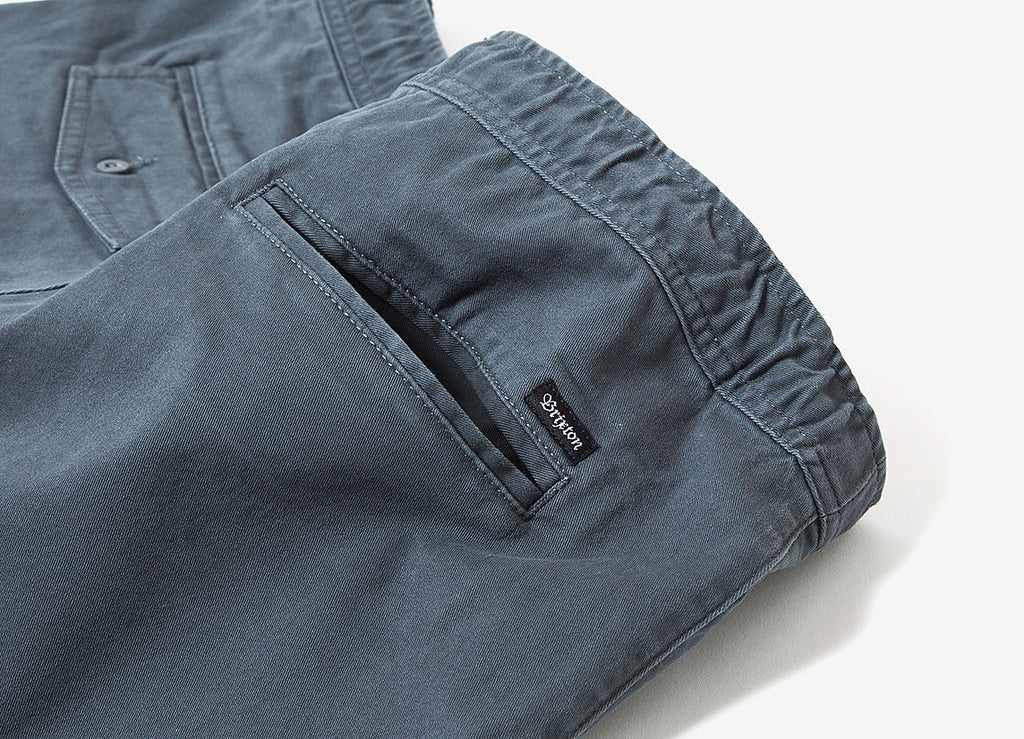 Brixton Madrid Short - Charcoal