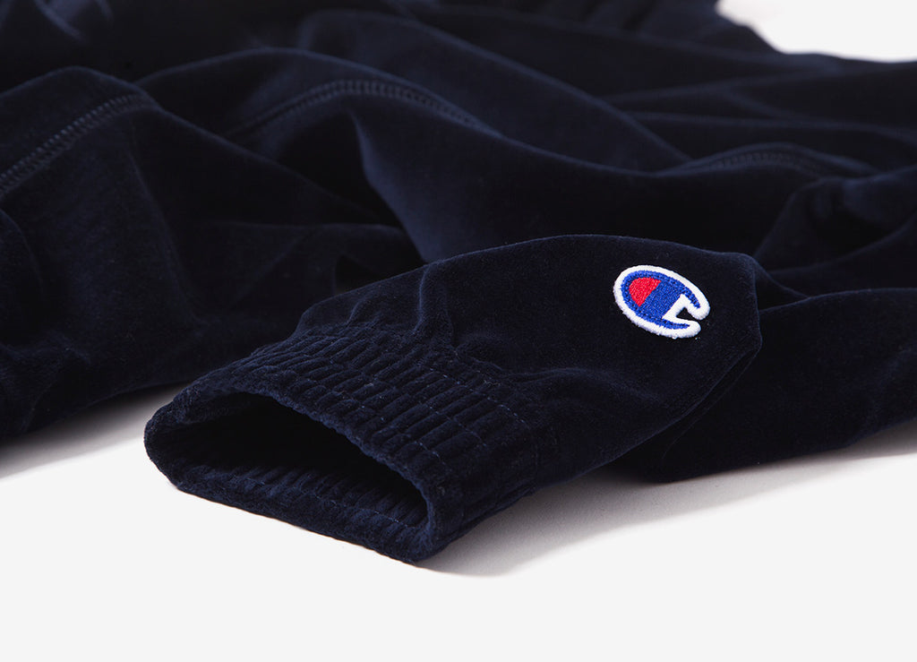 Champion Reverse Weave Oversized Pullover Hoody - Navy