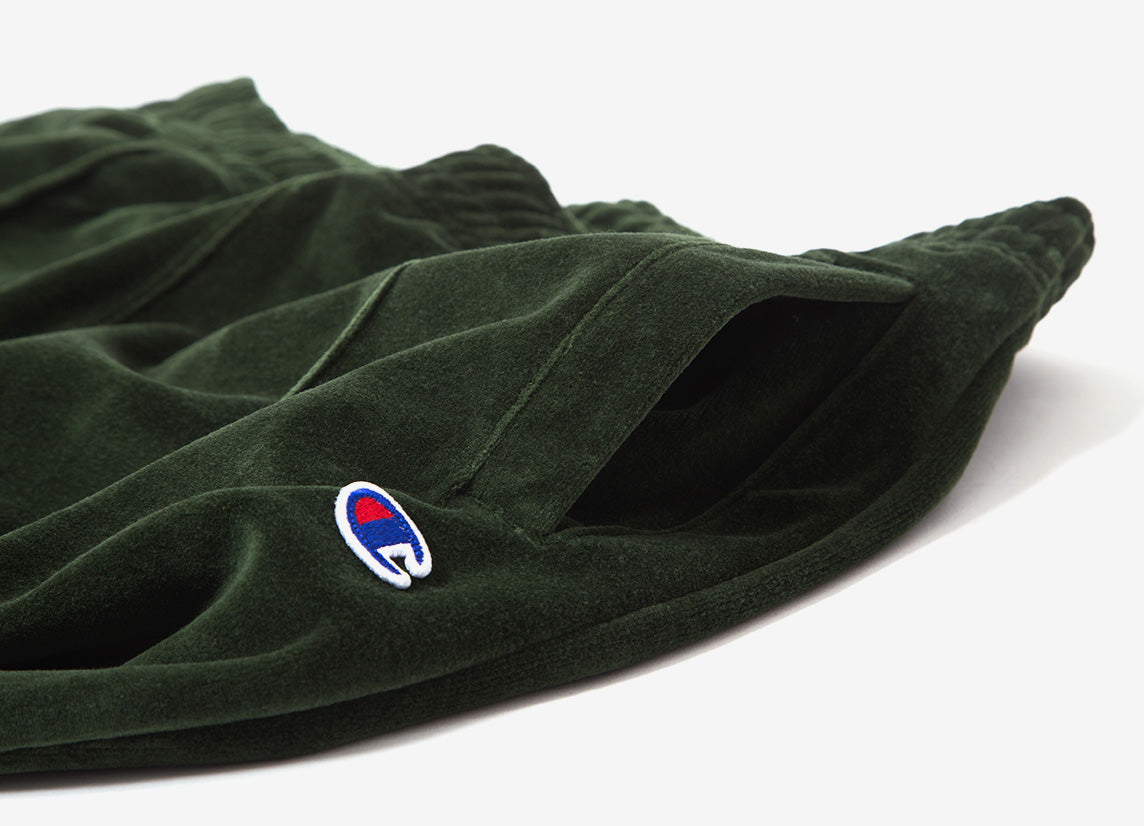 Champion Reverse Weave Straight Hem Pants - Green
