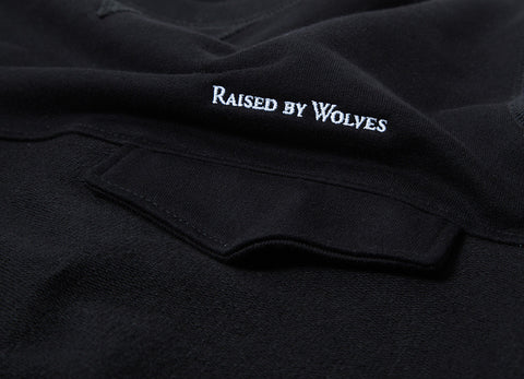 Raised By Wolves Windsor Pocket Sweatshirt - Black