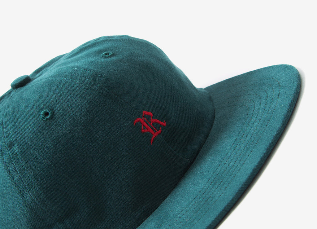 Raised By Wolves Gothic Polo Cap - Mallard