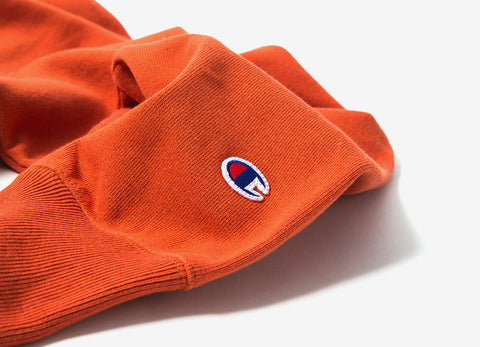 Champion Reverse Weave Sweatshirt - Orange