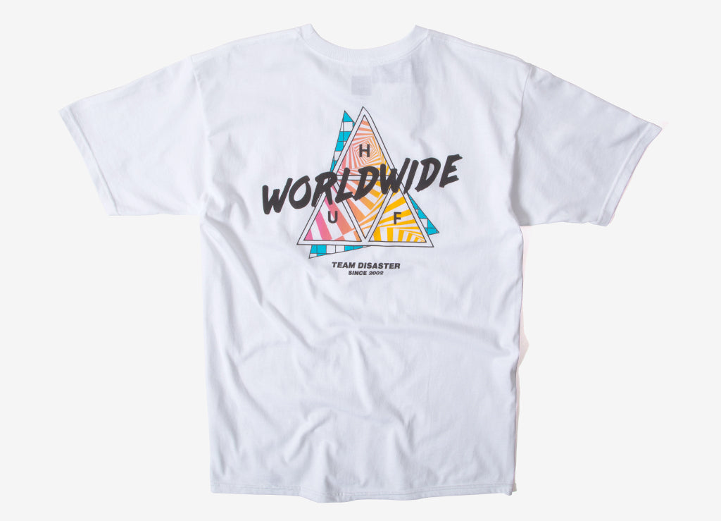 HUF Radical TT T Shirt - White