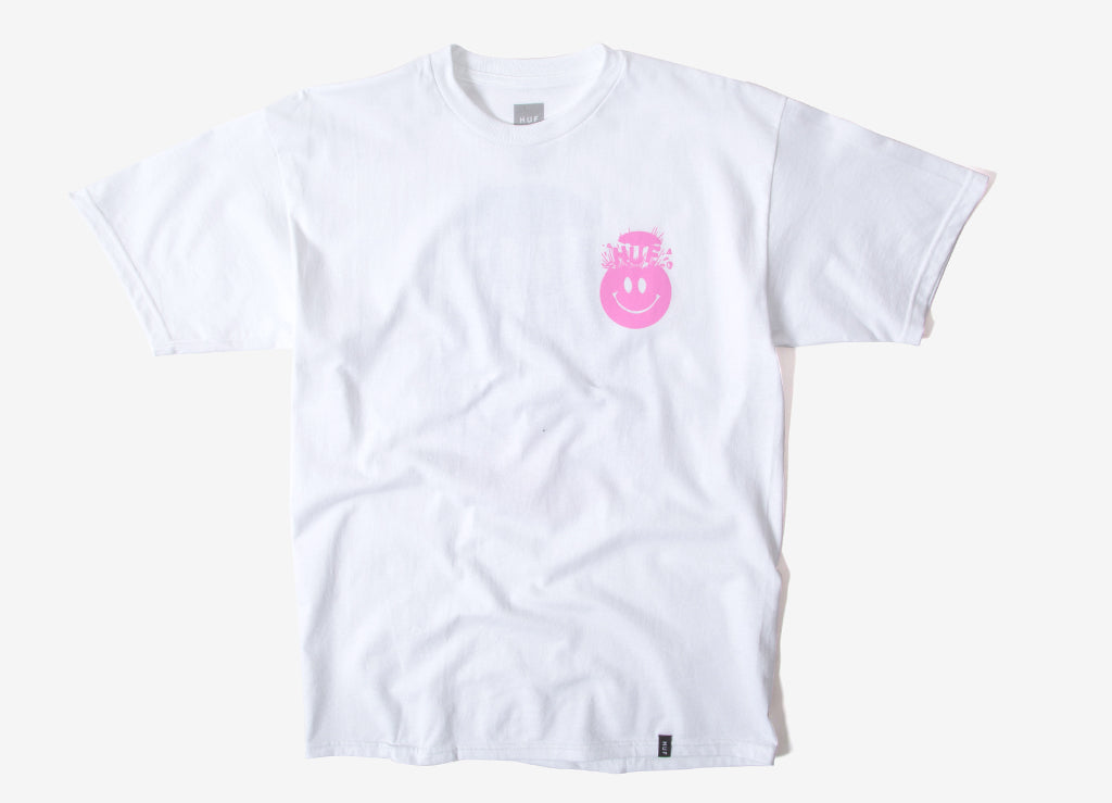 HUF Mind Blown T Shirt - White