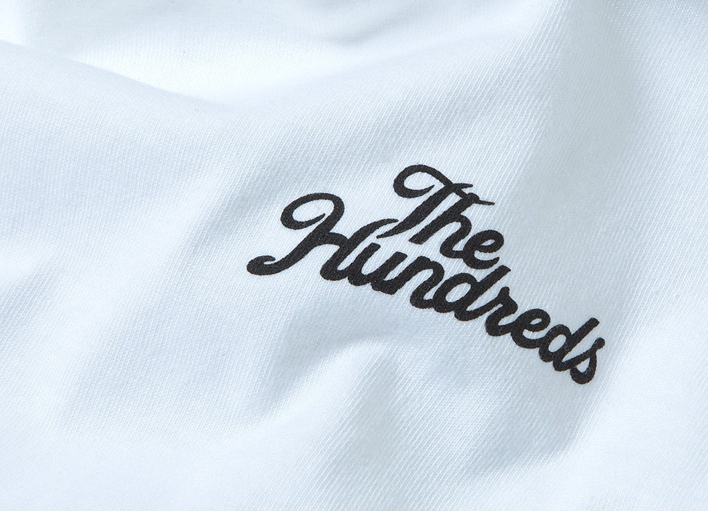 The Hundreds Slant Crest T Shirt - White