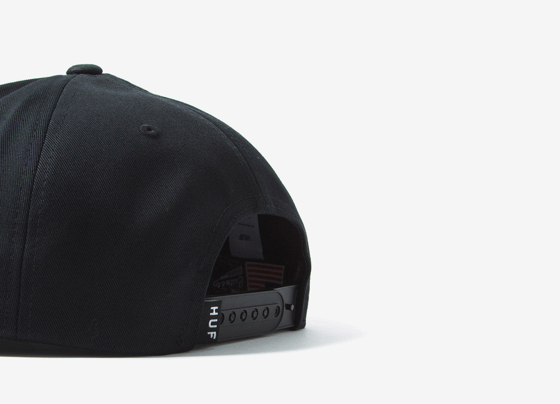 HUF Frequency Snapback Cap - Black
