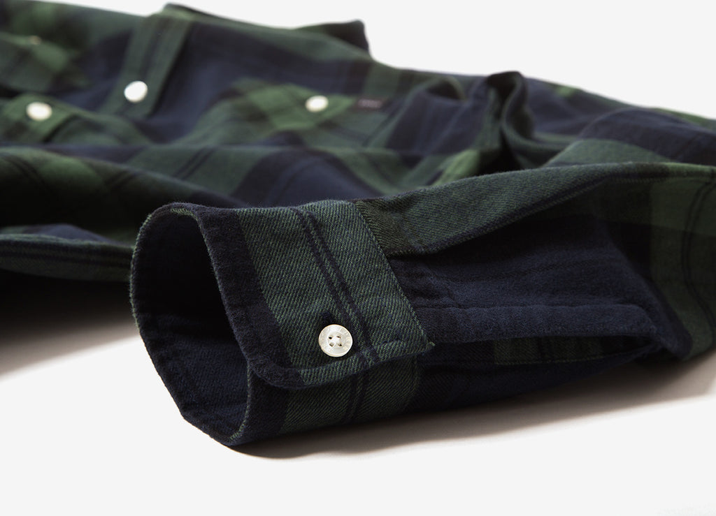 Edwin Labour Twill Flannel Shirt - Sycamore