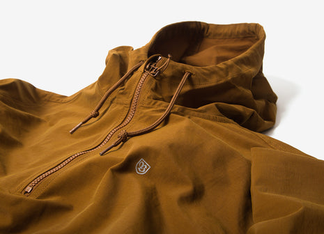 Brixton Patrol Anorak Jacket - Copper