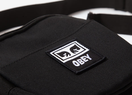 Obey Dropout Traveler Bag - Black
