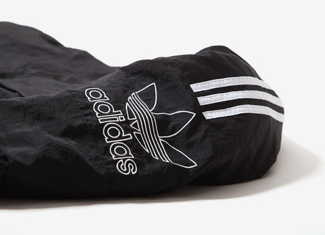 adidas Originals Outline Trefoil Logo Jacket - Black