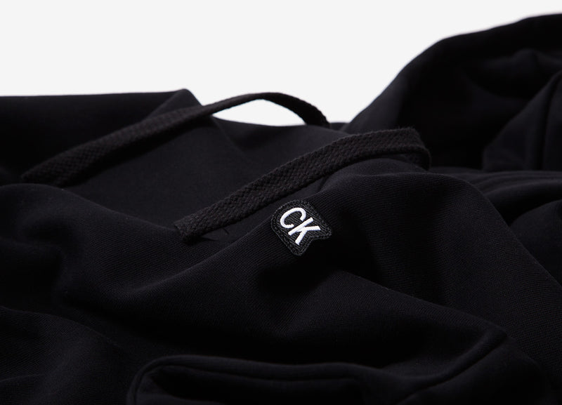 Calvin Klein Institutional Waistband Pullover Hoody - CK Black