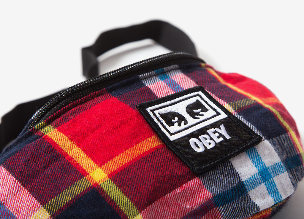 Obey Wasted Hip Bag - Red