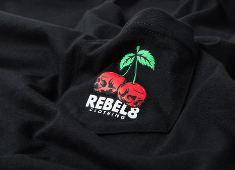 Rebel8 Fruit Of Labour T Shirt - Black