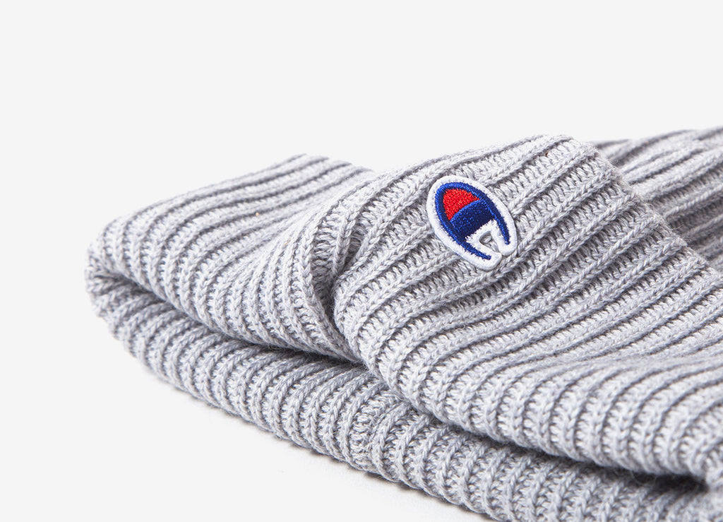 Champion Logo Beanie - Grey