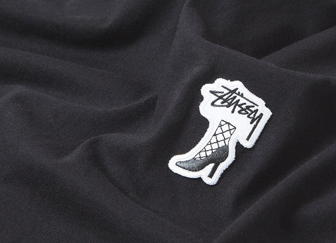 Stussy High Heels T Shirt - Black