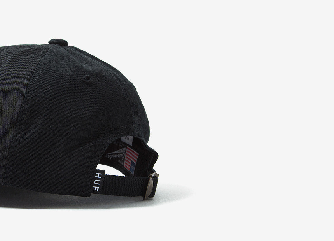 HUF x Pink Panther 8 Ball Dad Cap - Black