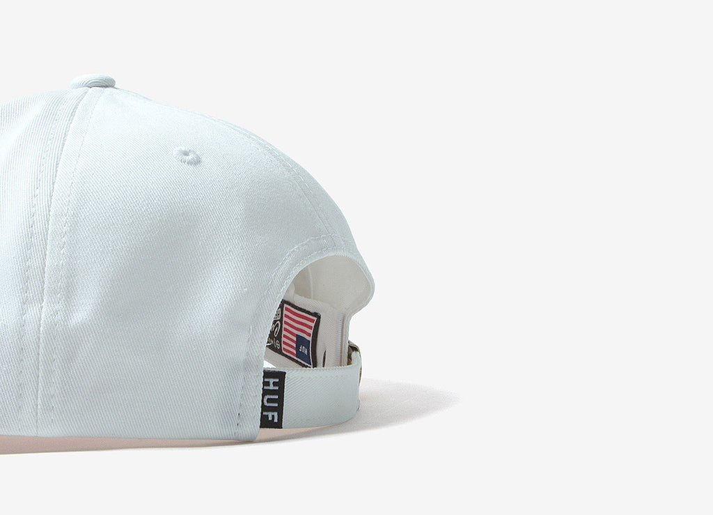 HUF x Pink Panther 6 Panel Cap - White