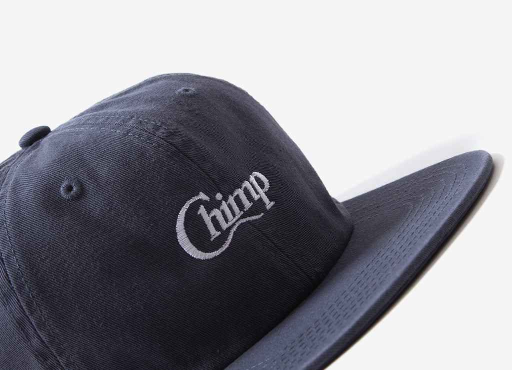 Chimp Motif Polo Cap - Blue