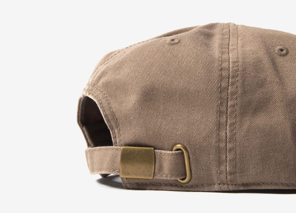Chimp Motif Polo Cap - Khaki
