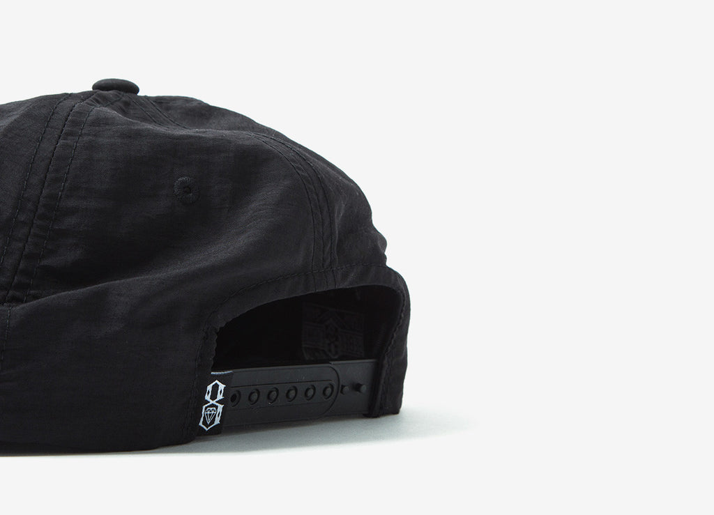 Rebel8 Reflective 8 Snapback Cap - Black