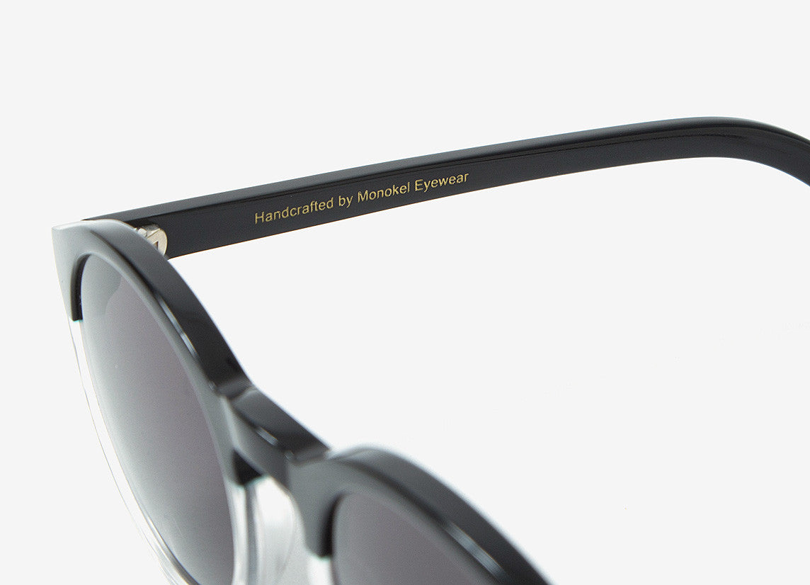 Monokel Barstow Sunglasses - Black/Crystal