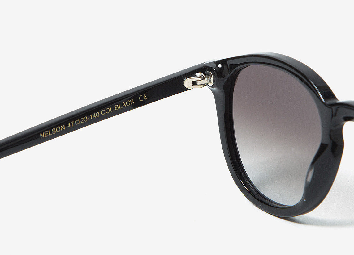 Monokel Nelson Sunglasses - Black