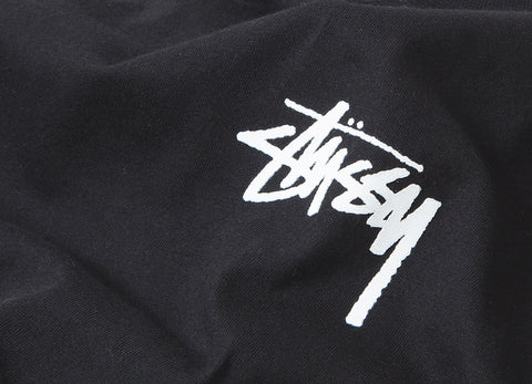 Stussy HD Stock T Shirt - Black