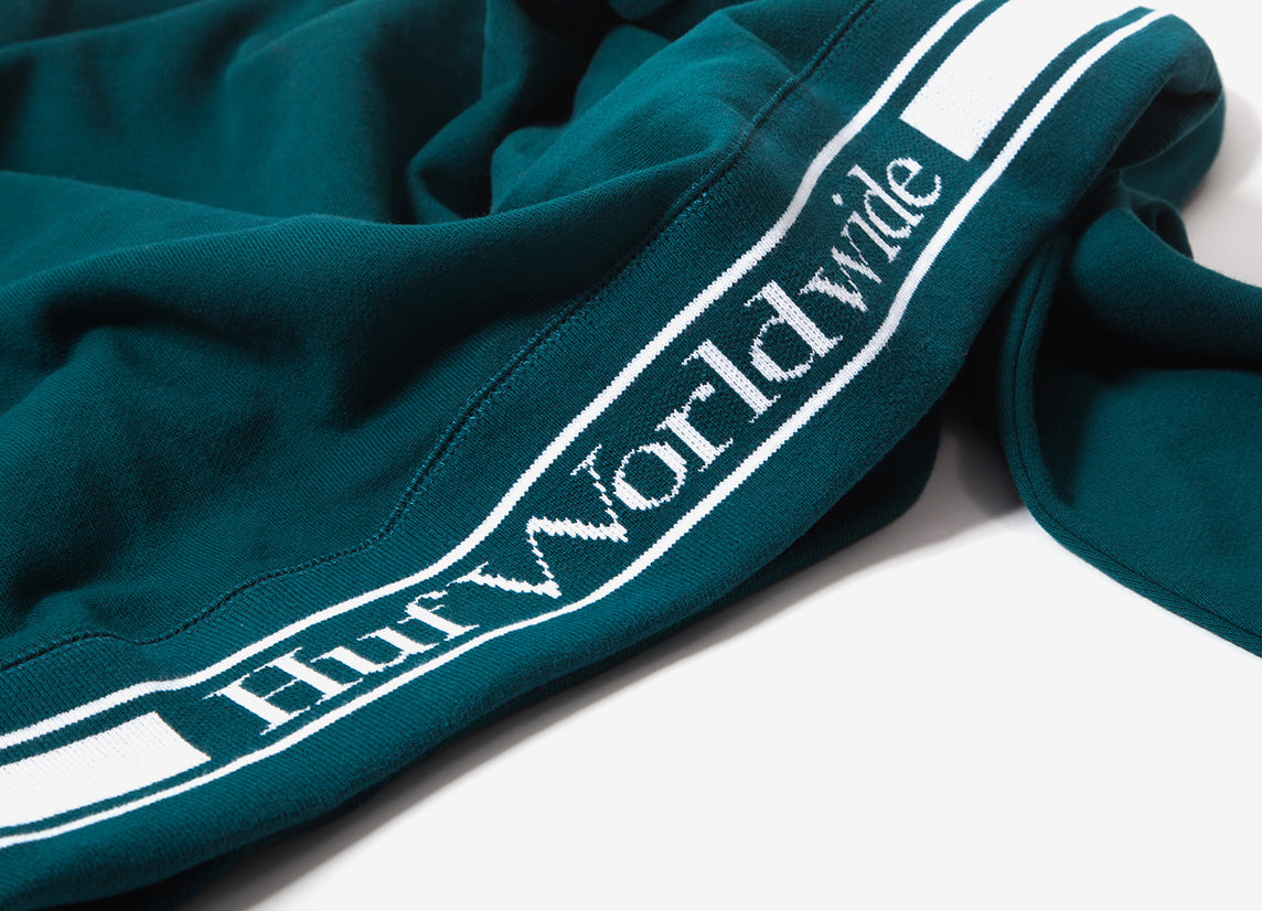 HUF Relay French Terry Pullover Hoody - Jade