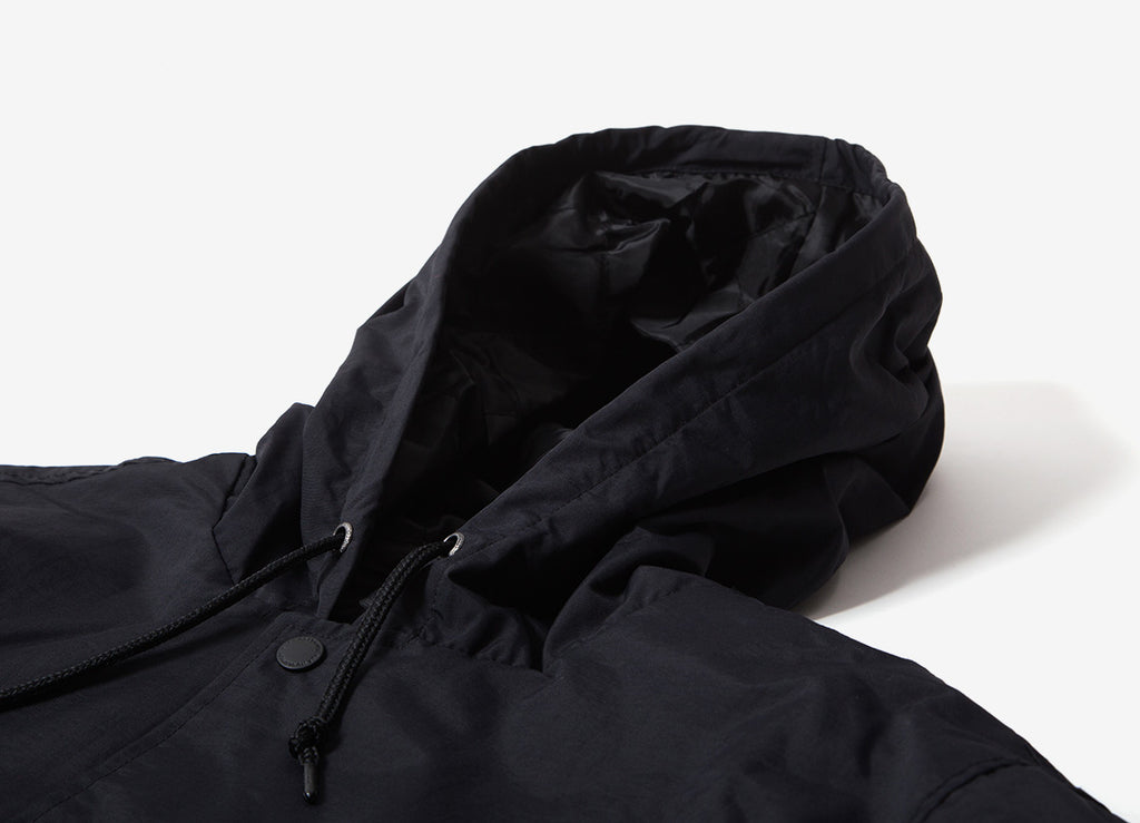 HUF Serif Quilted Coach Jacket - Black