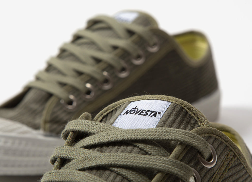 Novesta Star Master Cord Shoes - Military