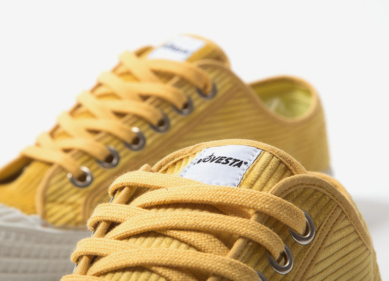 Novesta Star Master Cord Shoes - Mustard