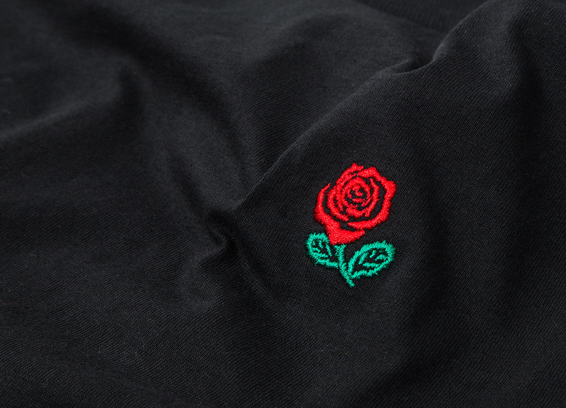 The Hundreds Rose English T Shirt - Black